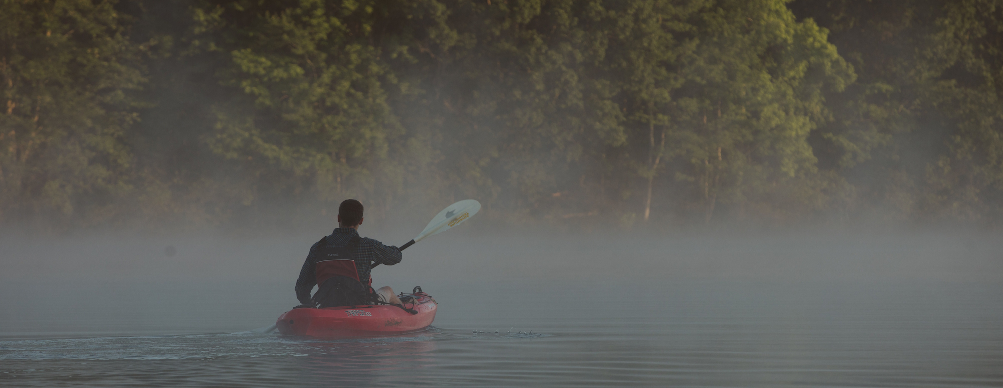 Paddling the Pacolet