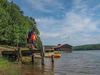 fishing in croft state park